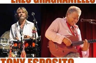Enzo Gragnaniello e Tony Esposito a Gioia Sannitica per festeggiare il Santo patrono.