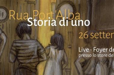 I Rua Port'Alba al Marotta&Cafiero store per lo showcase di STORIA DI UNO – 26 settembre ore 18