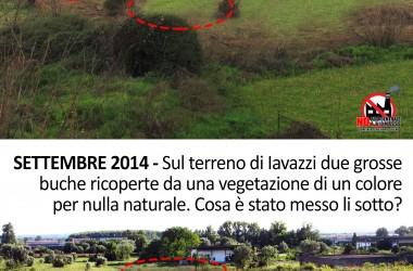 Il Comitato contro la Centrale a Biomasse individua delle fosse sospette nell'area di Iavazzi.
