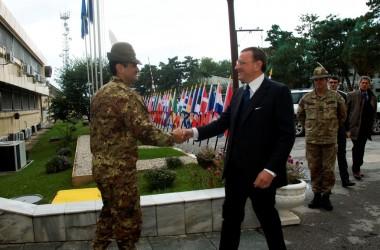 """KFOR: """"La presenza dei militari italiani incoraggia a investire in Kosovo"""""""