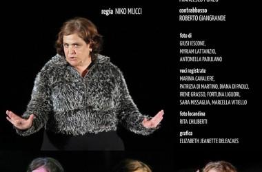 """""""Femmene"""" di Myriam Lattanzio regia di Niko Mucci con Nunzia Schiano."""