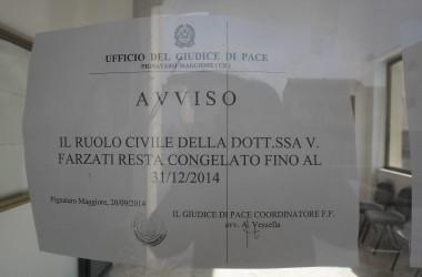 Clamorosa svolta: la Dottoressa Vittoria Farzati non è più la coordinatrice dell'ufficio del giudice di pace di Pignataro Maggiore