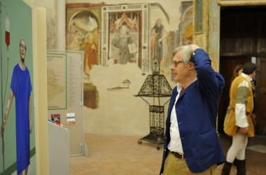A Gualdo Tadino una notte magica con Vittorio Sgarbi