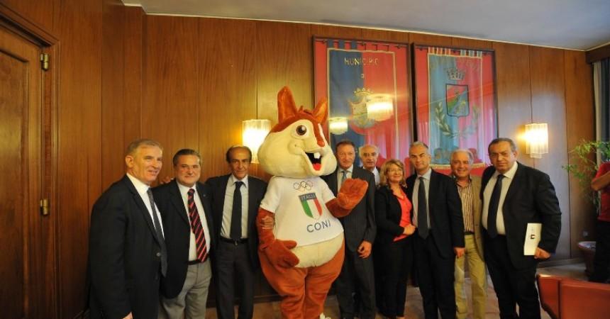 20141007 - SPORT | CASERTA - Al Comune la conferenza stampa di presentazione del Trofeo Coni - PHOTO/© FELICE DE MARTINO