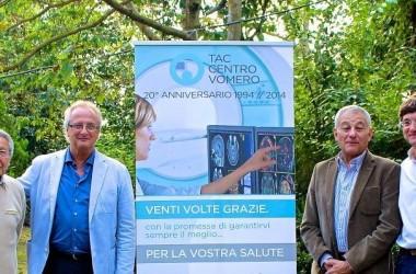 TAC Centro Vomero ha festeggiato a Napoli i suoi primi vent'anni di attività.