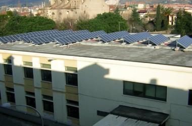 Realizzazione di un impianto di produzione di acqua calda da sistemi solari termici per la scuola Nicolas Green