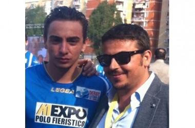 Brancaccio promuove l'iniziativa fatta a Scampia – Derby Azzurri nel Cuore