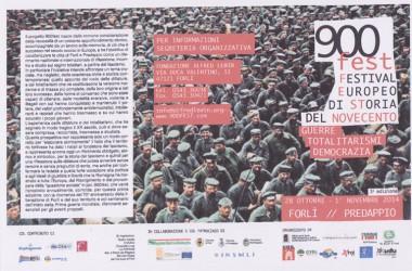 900fest a Forlì-Predappio dal 28 ottobre al 1 novembre