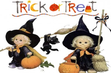 Felice e allegro venerdì – Trick or Treat!