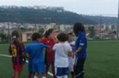 Real Napoli, ecco la scuola calcio per le ragazze.