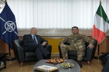 Il Generale Figliuolo incontra il Capo della missione OSCE in Kosovo