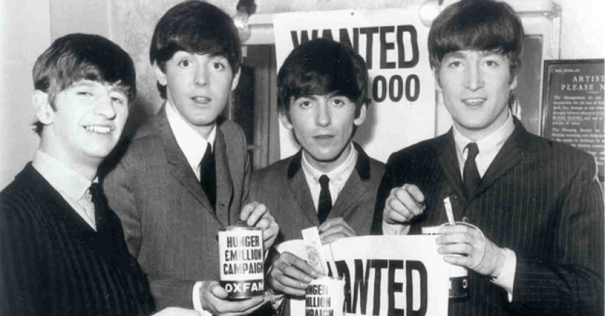 The picture of the Beatles, used to good effect by the Daily Mail, made great impact.âÃÂàPress Association Picture is 1963.