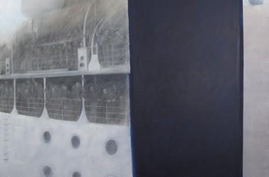 La pittura di Marta Czok omaggia Gualdo Tadino con un'opera sull'emigrazione italiana