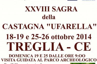"""Fervono i preparativi per la 28esima edizione della Sagra della Castagna """"Ufarella""""."""