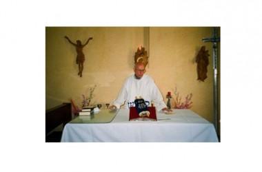 """Don Franco Galeone, il Padre Salesiano animatore e coordinatore del gruppo biblico """" Le Sante Radici"""", ha dato inizio alle Celebrazioni Eucaristiche – Rito Cattolico – nella lingua di Gesù (Ebraico)"""