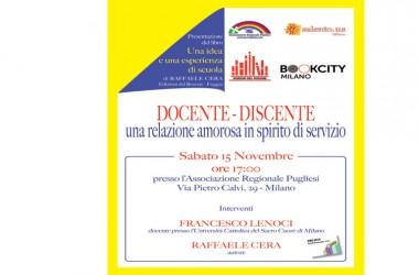 Una relazione amorosa in spirito di servizio a bookcity Milano
