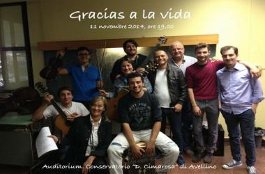 Gracias a la vida – lo spettacolo in conservatorio