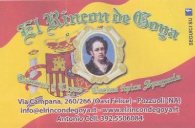 """""""El Rincon de Goya"""" apre i battenti a Pozzuoli"""