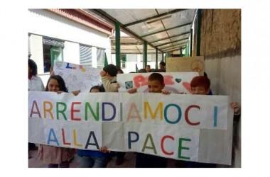 """Recale(Ce)- La """"Fiaccola della Pace"""" in città per dire: """"No alla violenza. Arrendiamoci alla Pace! """""""