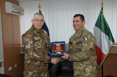 Kosovo: visita del capo di Stato Maggiore dell'Esercito al contingente italiano in Kosovo