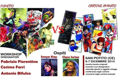 San Potito Sannitico, Mercatino di Natale 2014: cartoni animati e fumetti i protagonisti. Presentato l'evento all'EPT di Caserta