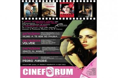 """Piedimonte Matese – La scrittrice Anna Verlezza ospite al terzo appuntamento del Cineforum """"De- Generis"""""""
