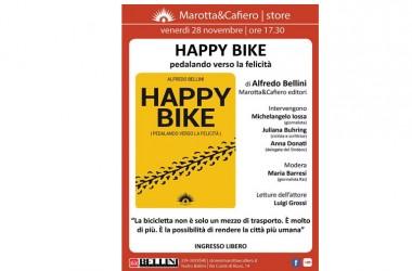 Un nuovo libro sulle biciclette e la felicità!