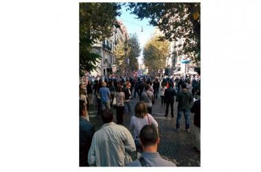 120 Sentinelle in piedi hanno testimoniato fino alla fine, rispondendo con il silenzio ad insulti e provocazioni