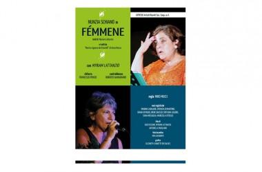 """Nunzia Schiano in """"Femmene"""" dal 20 al 23 novembre al Nuovo Teatro Sancarluccio"""