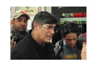 Don Maurizio Patriciello, premiato alla Biennale nazionale di Poesia e Narrativa Giano Vetusto