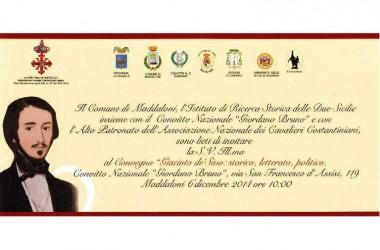 Convegno – Maddaloni – Giacinto de'Sivo: storico, letterato, politico