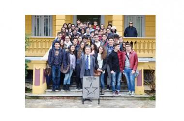 Giornata di Studio del Liceo scientifico Nino Cortese di Maddaloni al Polo culturale di Villa Vitrone.
