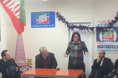 Scambio di auguri ad Alife con l'assessore Nugnes e il consigliere regionale Di Costanzo