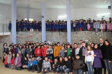 """Gioia Sannitica: il primo Natale nel nuovo plesso scolastico """"L.Fiorillo"""". Il sindaco incontra i piccoli gioiesi"""