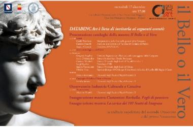 Presentazione del Catalogo della mostra Il Bello o il Vero- San Domenico Maggiore 17 dicembre ore 17.00