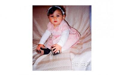 La piccola Amalia Bosio, dalle radici vitulatine, ha ricevuto il Sacramento del Battesimo