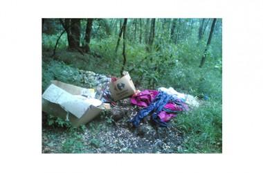 DRAGONI – Individuato l'autore di un nuovo sversamento illecito di rifiuti sul territorio comunale.