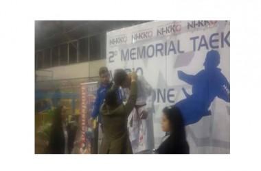 Continua a vincere il campione Italiano di Taekwondo Alfonso Del Gaudio.