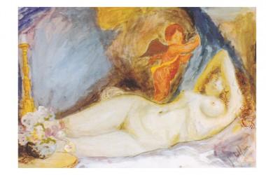 I dipinti del Maestro Angelo Mirra regalati al Comune di Santa Maria La Fossa