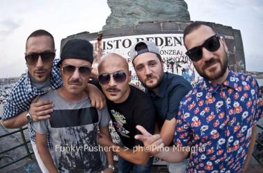 I Funky Pushertz più DJ Ciccio Sciò al Moses Live Club di Napoli (Via Vincenzo Petagna, 15)