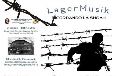 """""""Lager Music – Ricordando la Shoah"""" al Conservatorio Cimarosa"""