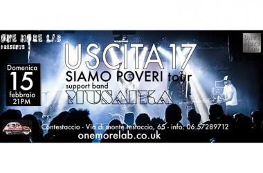 OML Presents:   15 Febbraio 2015 USCITA17 @ ConteStaccio || Via di Monte Testaccio 65, Roma – FREE ENTRY