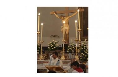Tutto pronto, a Teano, per l'ordinanza presbiteriale di Fabrizio Del Gado