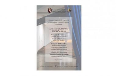 Gilardino World premiéres al Cimarosa di Avellino
