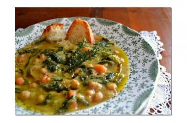 Un piatto della tradizione: la zuppa di ceci e maltagliati