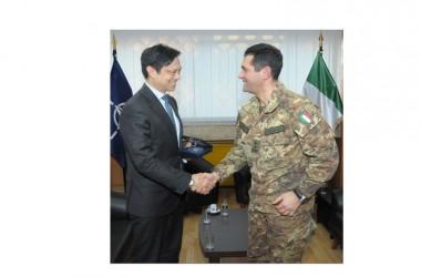 Il Generale Figliuolo riceve il Vice Segretario degli Affari Europei ed Eurasiatici del Dipartimento di Stato Americano