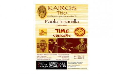 Sabato 21 Febbraio alle 22,00 il sound del Kairos Trio Feat Paolo Iannarella con il suono suggestivo del suo flauto al New Around midnight di Napoli (Via Bonito, 32)