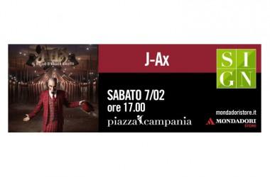 Domani J-Ax incontra il pubblico e firma le copie del suo ultimo album