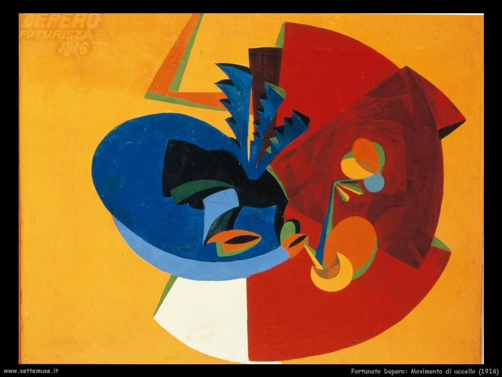 2 fortunato_depero_001_Movimento_di_uccello_1916