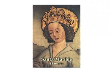 Santa Matilde di Germania regina